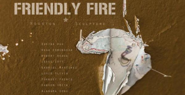 FRIENDLY FIRE Houston Sculpture