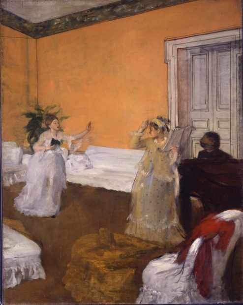 The Song Rehearsal, 1872-73