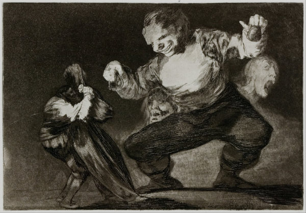 Francisco Goya, Simpleton, 1816-1823