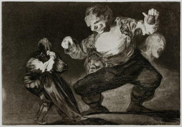 Francisco Goya, Simpleton, 1816-1823