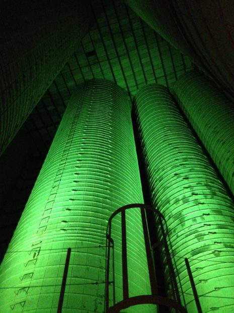 Inside the art Silos in Houston Texas