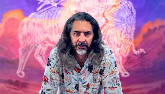 Artist Ricky Armendariz
