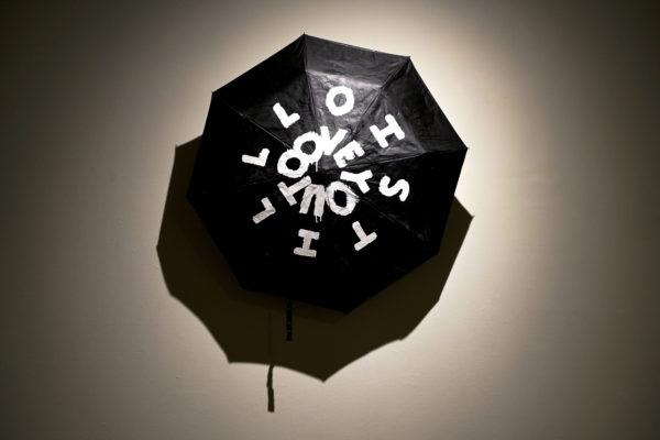 Biqui 2016, umbrella & paint