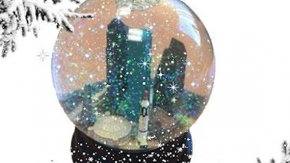 Image stolen from DiverseWorks.org because snow globes are cool.