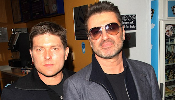 Kenny Goss and George Michael. ©Getty Images via Daily Mail