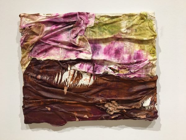 Beaming, 2010, oil paint and oil paint skins collaged on canvas