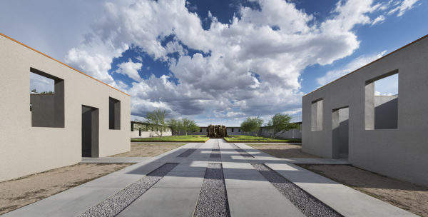 Robert Irwin's untitled (dawn to dusk) at the Chinati Foundation, Marfa
