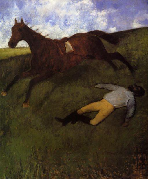 Degas, The Fallen Jockey