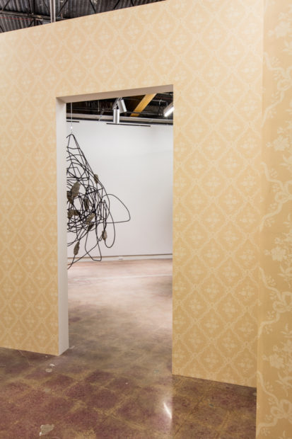 Installation view, Monika Sosnowska: Habitat, The Contemporary Austin – Jones Center, Austin, Texas, 2016.