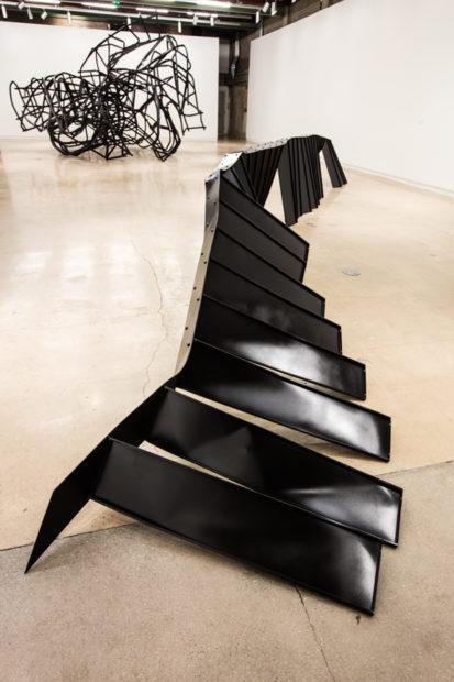 Installation view, Monika Sosnowska: Habitat,