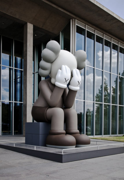 KAWS, Companion Passing Through