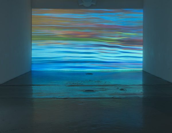 Chacras in 60 , 2011, video projection, continuous loop Blue Star Contemporary