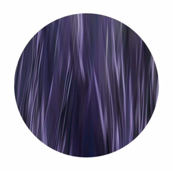 Jacaranda, 2012, digital print on metal, 30 in. diameter