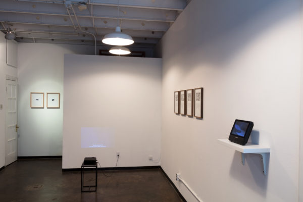 Mordants Installation View, 2017.