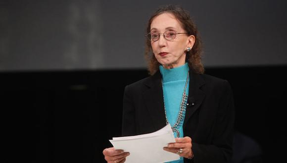 Joyce Carol Oates. Credit Thos Robinson/Getty Images via NYTimes