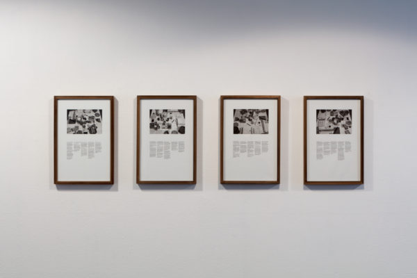 Mason Bryant, The Table in Hesse's Bowery Studio, Photograph Initially Attributed to Herman Landshoff, Recreated by Mason Bryant, and Documented by Daniel Martinez, 2015, digital prints.