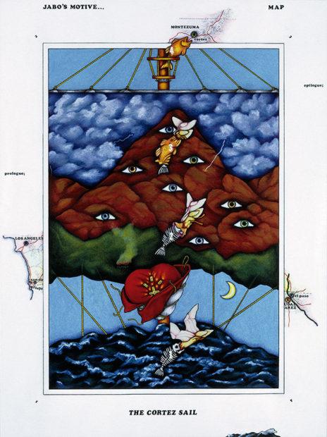 Terry Allen The Cortez Sail 1970