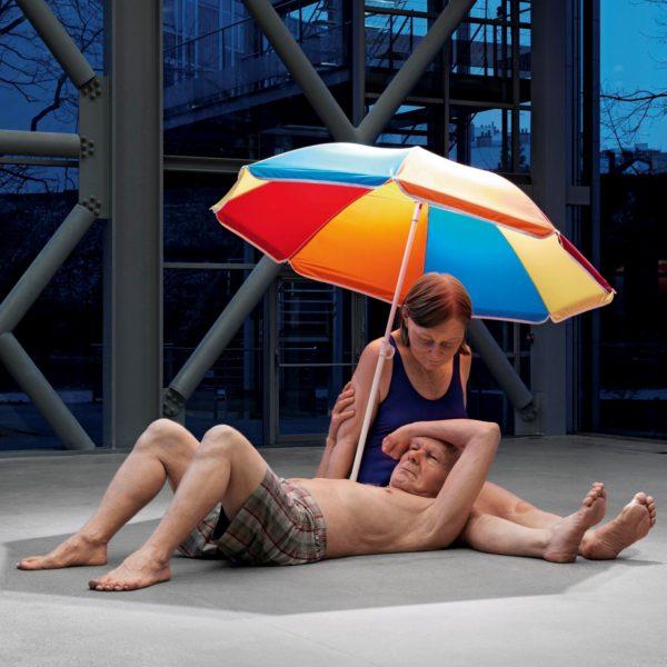 Couple under an Umbrella, 2013