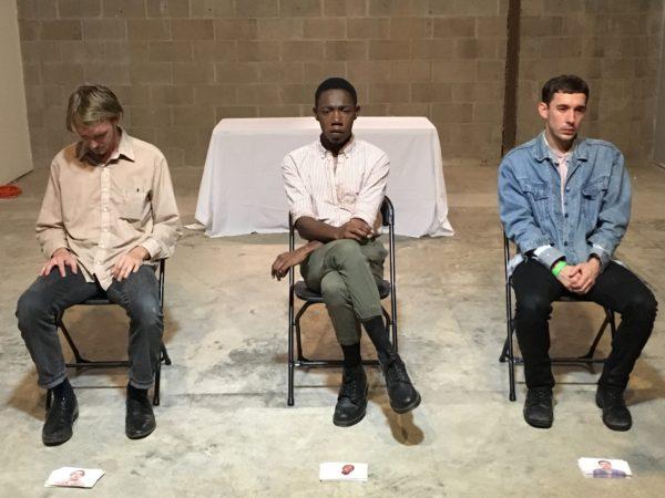 performance art Vincent Tiley's Sad Pretty Boys