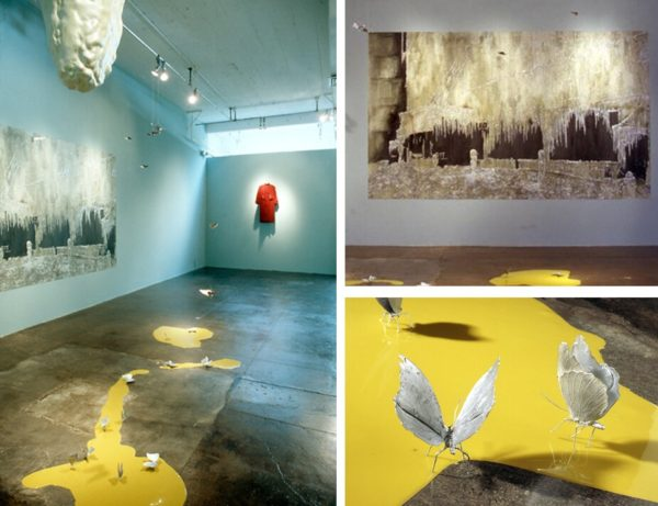 Striking Likeness, 1998, site-specific installation, Artpace, San Antonio