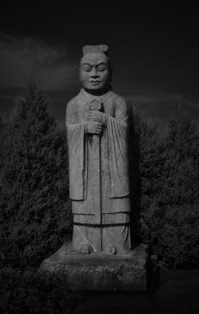 Qian Jin (China), Tang Qianling NO.5, from the series Dynasty In Stone, 2015. Courtesy of the artist.