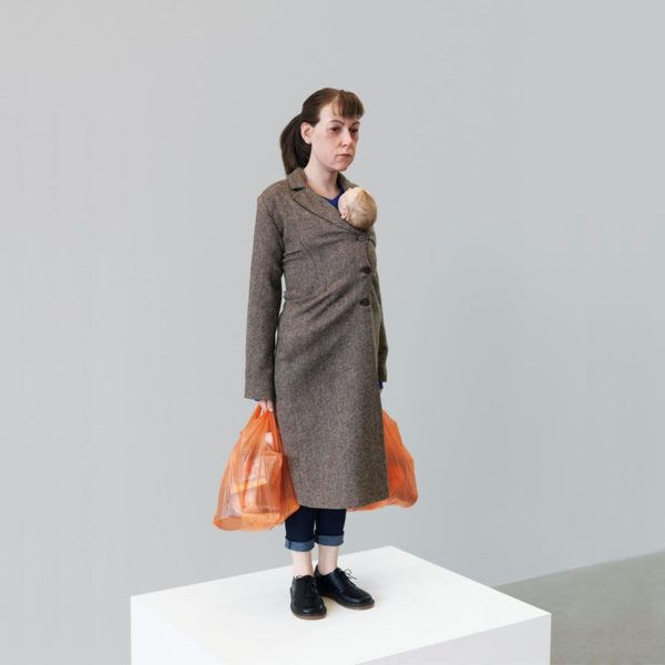 Woman with Shopping, 2013