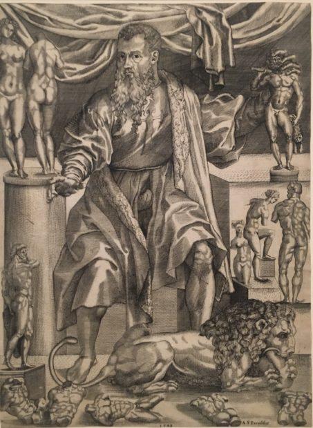 Nicolas, Beatrizet, after Niccolo della Casa, after Baccio Bandinelli, 1548, engraving on laid paper