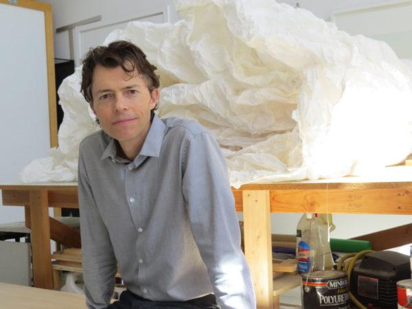Stuart Allen in his studio. Photo: David S. Rubin