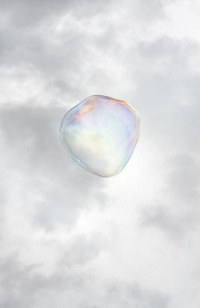 Bubble No. 1 , 2014, pigment print on rag paper, 34 x 23 in.