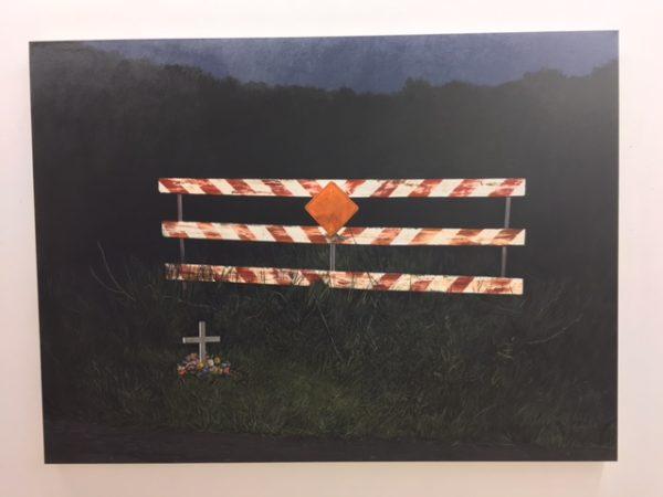 "Daniel Blagg, Dead End, Oil on canvas, 59 x 80"""