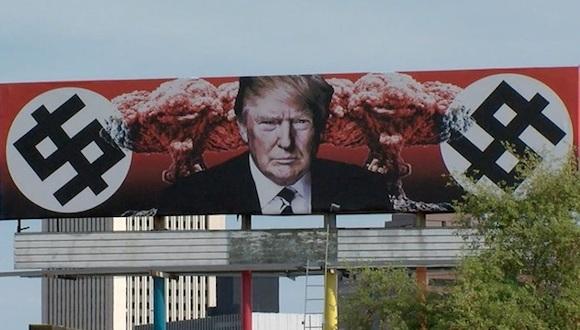 anti-Trump billboard