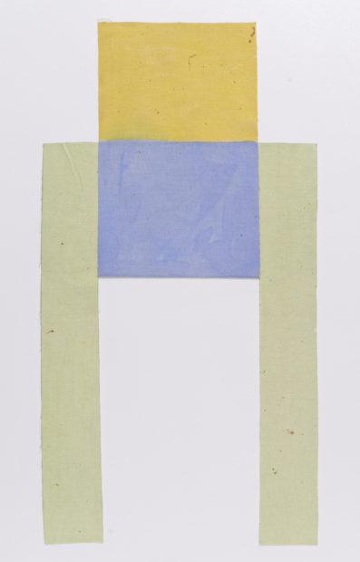 Louis Cane Toile découpée, 1974 Oil on canvas