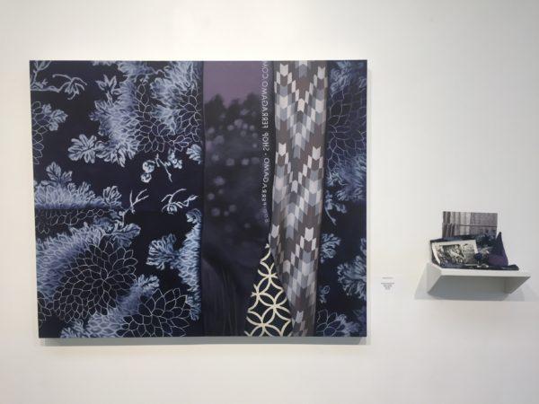 "Devon Nowlin, Mega-purple Midnight, Oil on canvas, 30 x 36"""