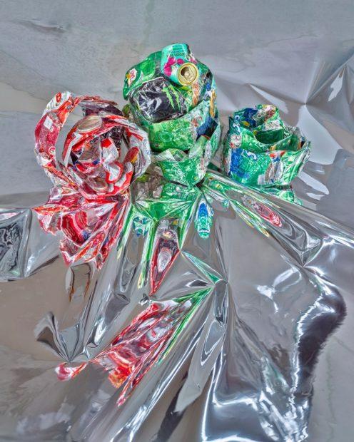 "Aluminum RGG #1, Marilyn Waligore, Archival pigment print on cotton, 40 x 32"""