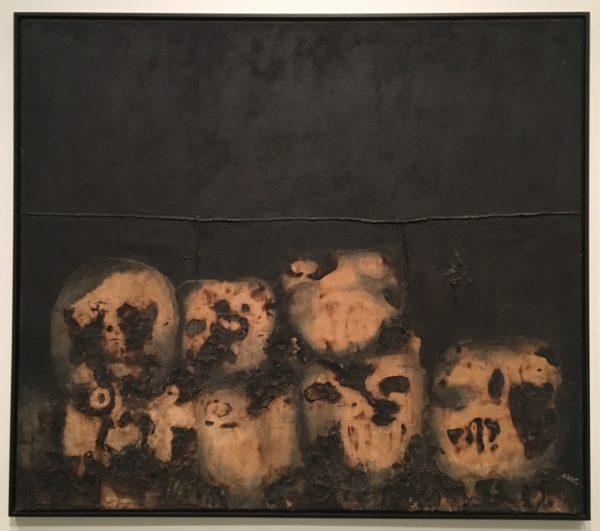Antonia, Eiriz, Procession, 1963, oil on canvas