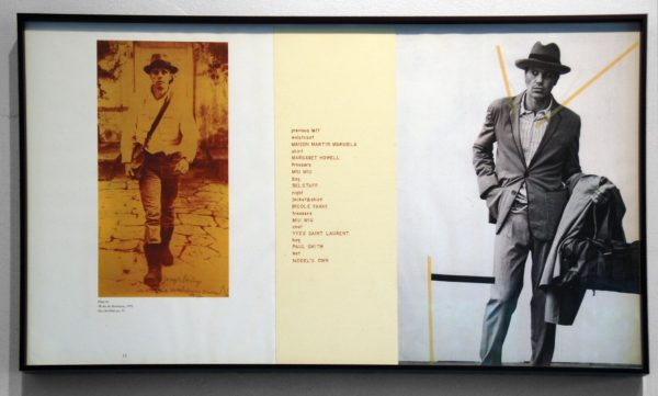 I Love Beuys #1, collage, 15.5 x 28 inches, 1997
