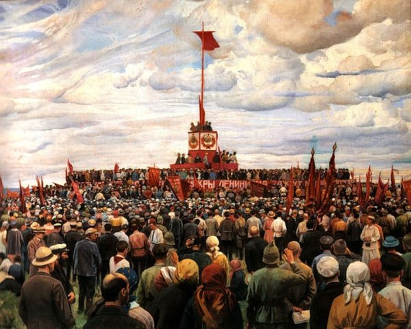 Isaak Brodksy, Day of Constitution, 1930