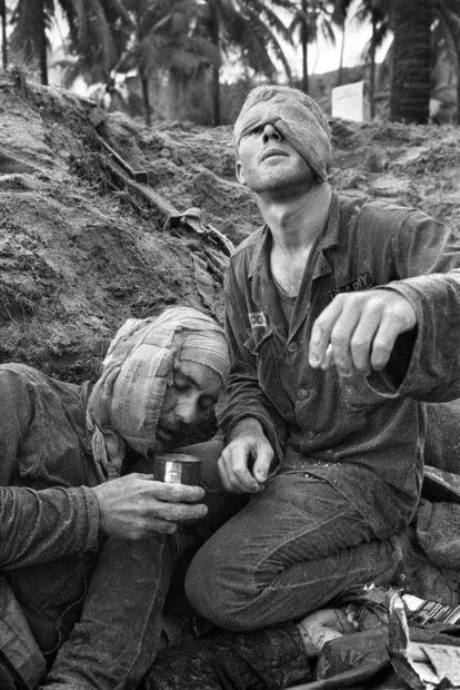 Henri Huet, Medic Thomas Cole and Staff Sergeant Harrison Pell, Jan. 1966