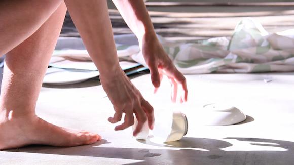 UpEnded Brenda L Burmeister Video Installation stills 2012