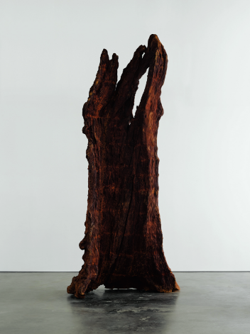 Ai Weiwei, Iron Tree Trunk, 2015. Artwork © Ai Weiwei Studio. Courtesy Lisson Gallery. Photograph by Jack Hems.