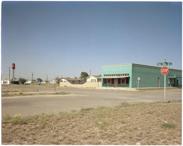 "Jason Lee, Wink, Texas, 4x5 Kodak Vericolor III Film, pigment inkjet print, 17x22"""