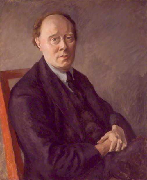Portrait of Clive Bell by Roger Fry
