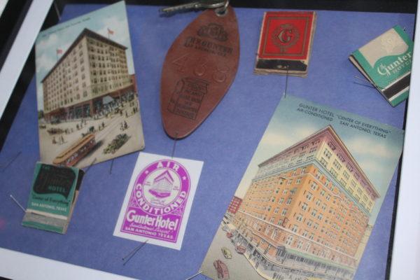 Gunter Memorabilia. (is in exhibit) Johnson recorded in the Gunter Hotel in San Antonio in November 1936.