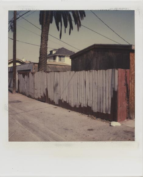 Dennis Hopper (1936–2010) Los Angeles, Back Alley, 1987 Polaroid SX-70