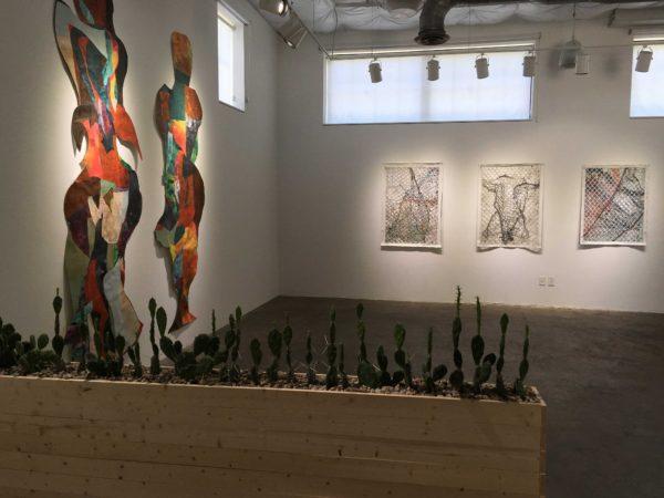 Works by Leonardo Benzant and Fidencio Fifield-Perez