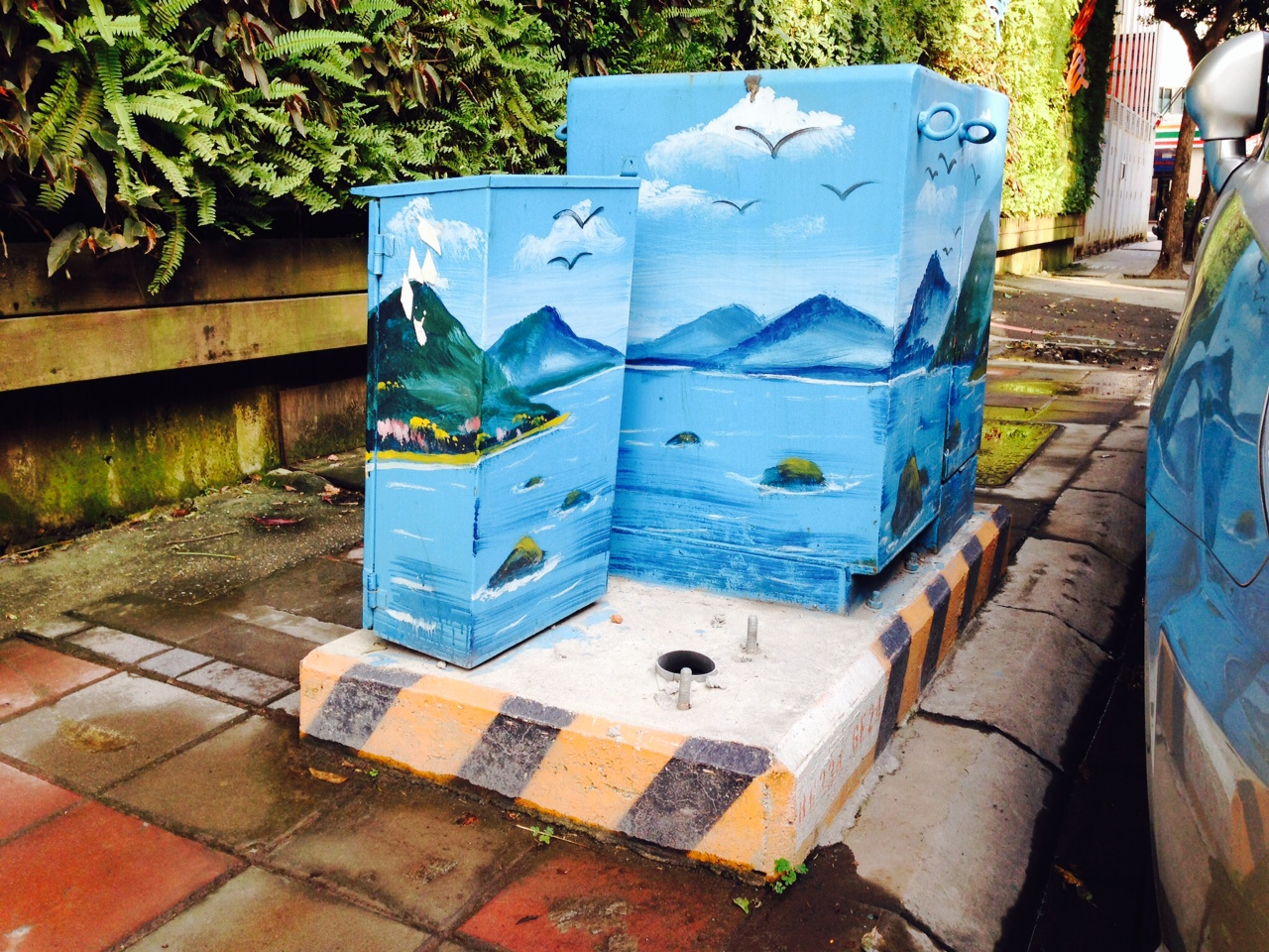 Please Stop Painting The Electrical Boxes A Public Art Proposal
