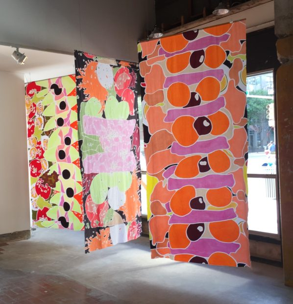 New batik work from Co-Lab show
