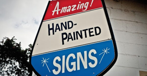 For Hire: Contemporary Sign Painting in America