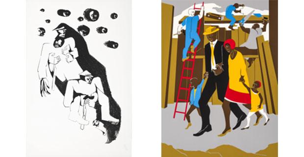 history, labor, life: the prints of jacob lawrence | glasstire