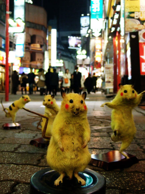 Chim↑Pom SUPER RAT 2006 © Chim↑Pom Courtesy of the artist and MUJIN-TO Production, Tokyo